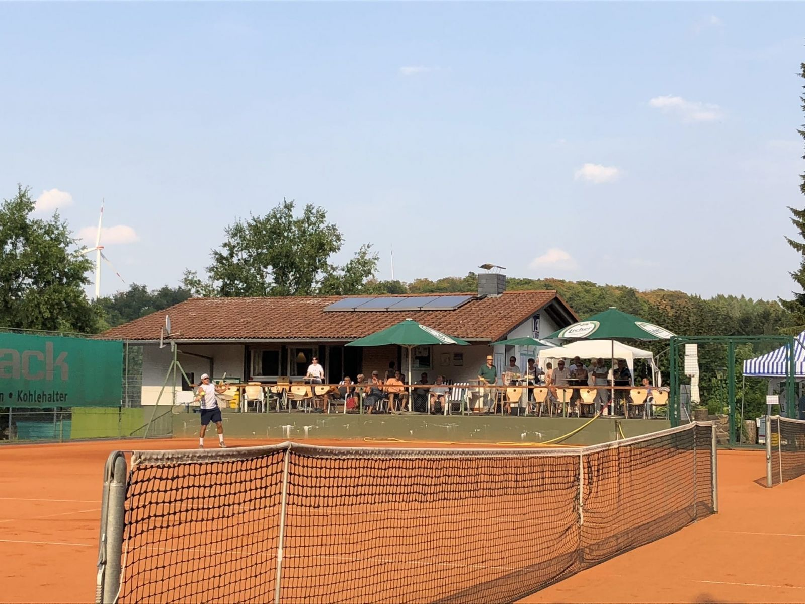 TC Grünberg Clubhaus
