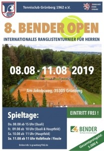 Bender Open 2019