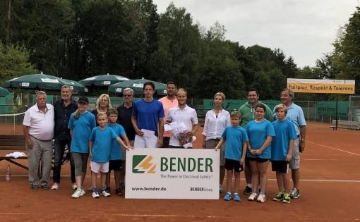 Siegerehrung 8.Bender Open 2019