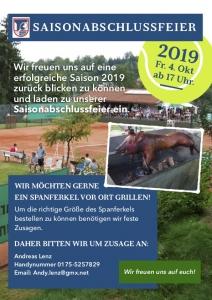 TC Saisonabschluss 2019