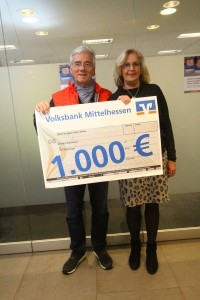 Volksbank TC Grünberg Spenden 2020