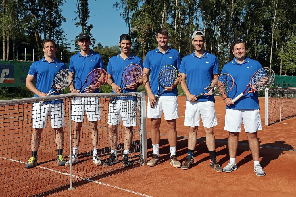 Die Mannschaft des TC Grünberg, Herren 30, 2020